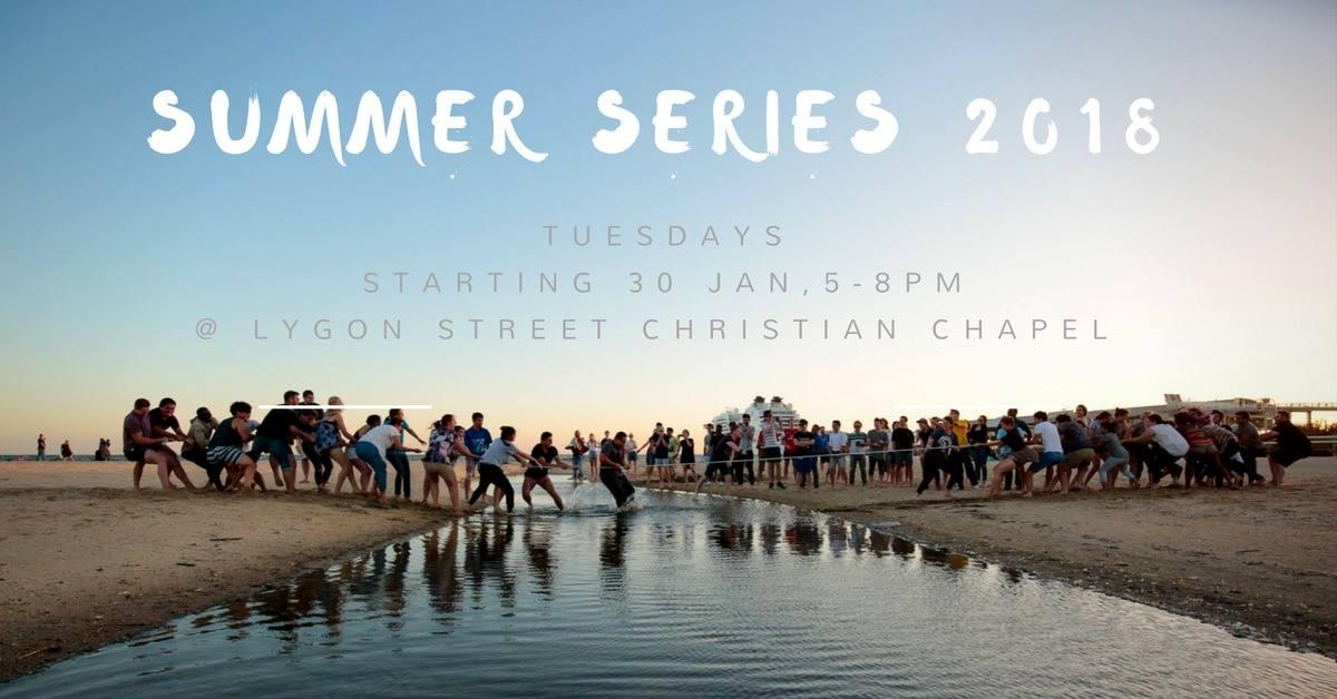 RMIT Christian Union summer series