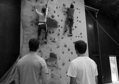 RMIT Christian Union rock climbing