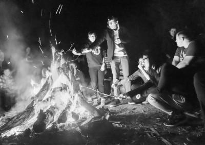 RMIT Christian Union campfire